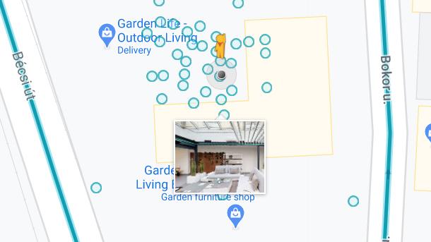 Google Street View publikálás